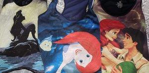 Bundle of 3 little Mermaid tank tops